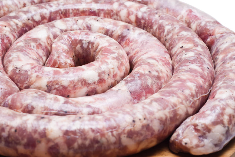 Download Raw sausage stock photo. Image of grill, horizontal, cholesterol - 31688442