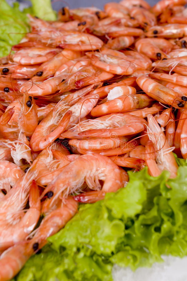 Download Raw shrimp stock photo. Image of cooled, fresh, vegetables - 14198228