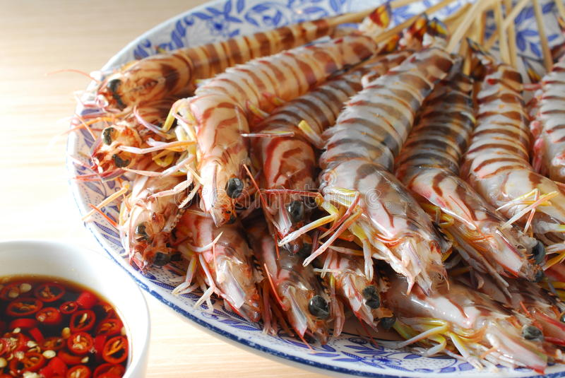Download Raw shrimp stock image. Image of uncook, seafood, style - 25992019