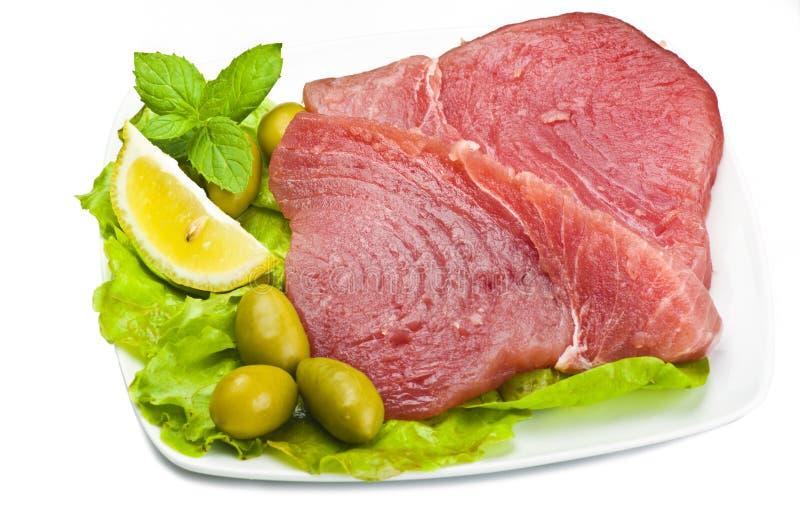 Download Raw tuna steak stock image. Image of tomato, vegetable - 20008065