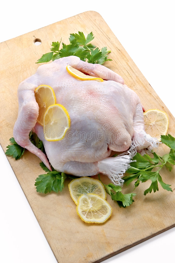 Raw uncooked chicken royalty free stock images