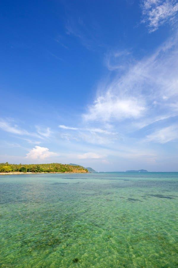 Rawai异乎寻常的海湾在普吉岛海岛 免版税库存照片