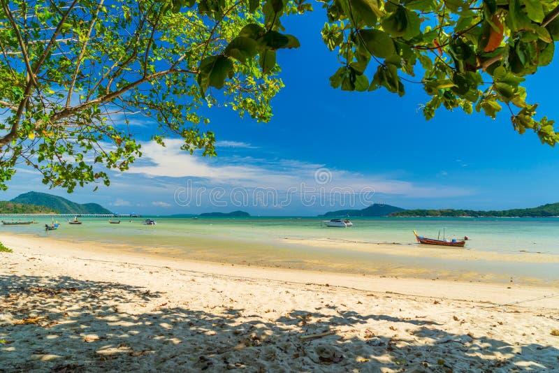 Rawai海滩在普吉岛 图库摄影