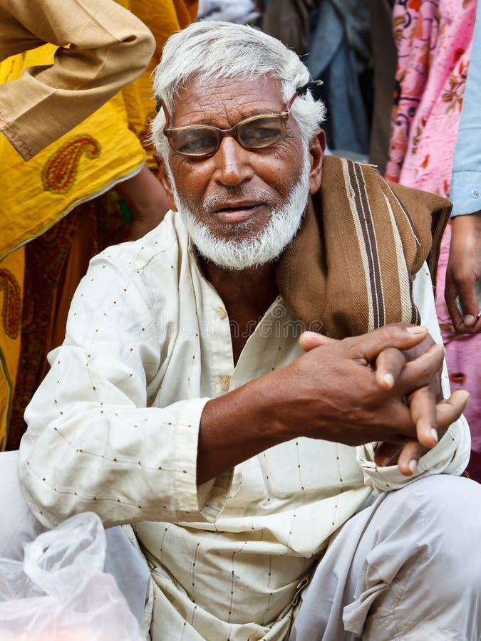 De Bazaar van de radja in Rawalpindi, Pakistan stock fotografie