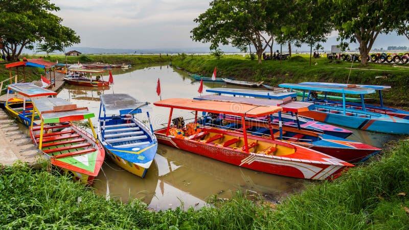 Rawapening, Semarang, Java central, Indonesia fotografía de archivo libre de regalías