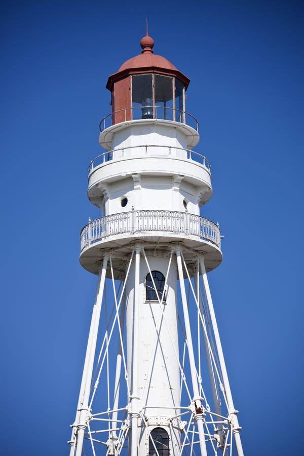 Rawley Point Lighthouse stock photography