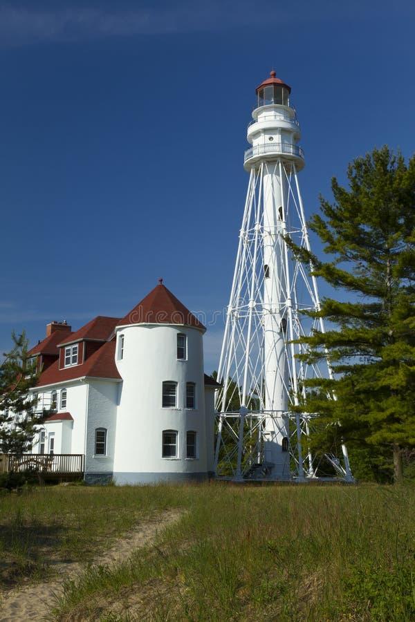Rawley Point Lighthouse royalty free stock image