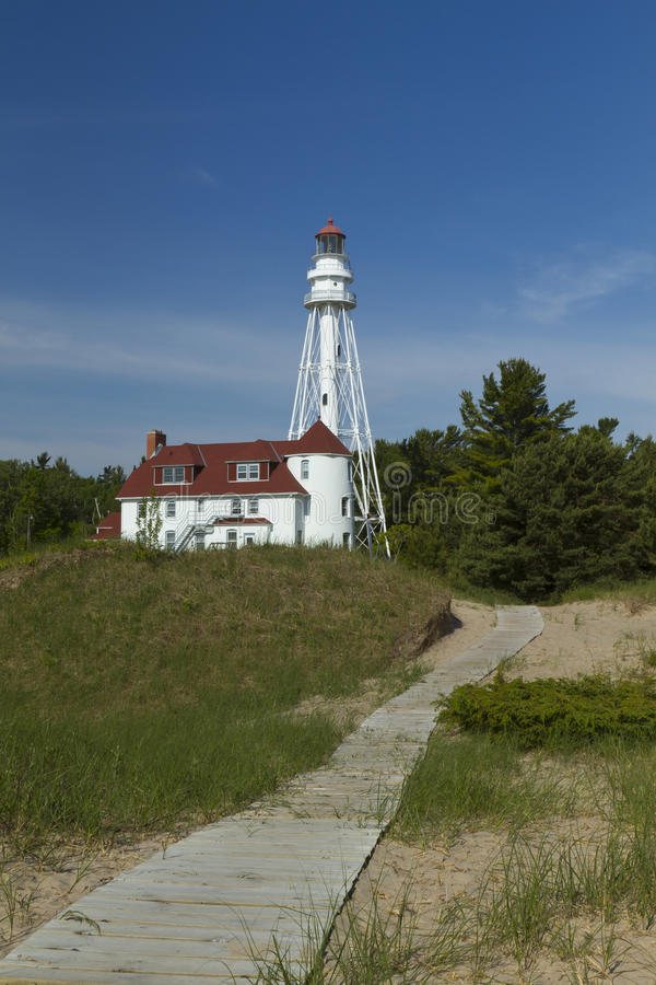 Rawley Point Lighthouse royalty free stock photography