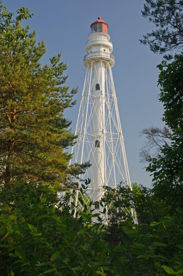 Rawley Point Lighthouse, Wisconsin royalty free stock photos