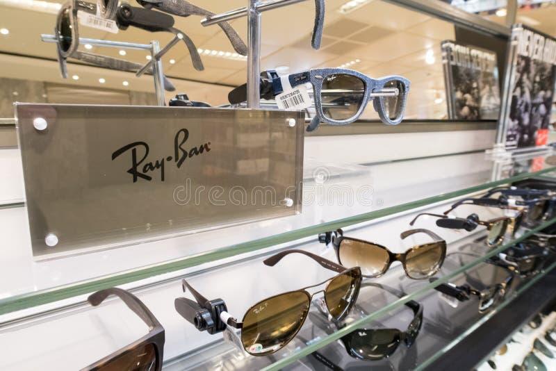 Ray-Ban royalty-vrije stock afbeelding