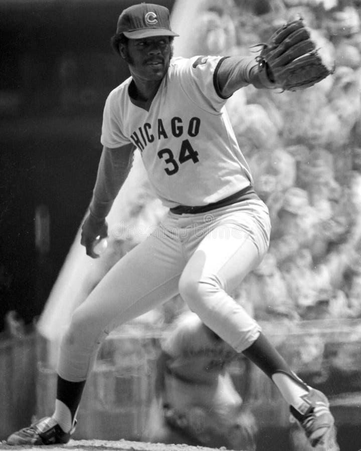 Ray Burris, Chicago Cubs foto de archivo