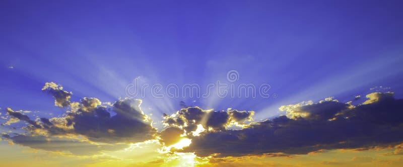 Ray des Lichtes lizenzfreies stockbild