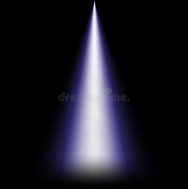 Ray di luce da sopra fotografia stock libera da diritti