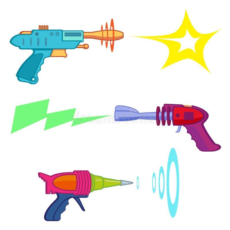 Ray Gun imagens de stock