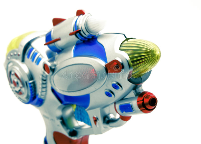 Download Ray gun stock photo. Image of white, handgun, space, play - 30830186