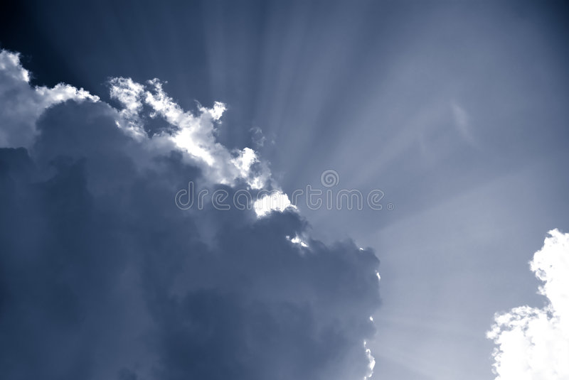 Ray of Hope royalty free stock images