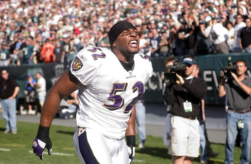 Ray Lewis stock image