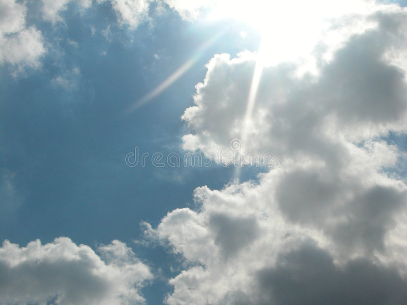 Download Ray Of Light stock image. Image of clouds, sunlight, weather - 73637