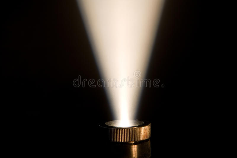 Ray Of Light From A Projector Stock Image