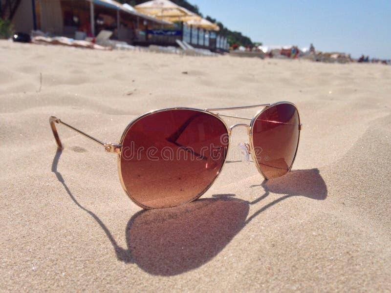 Ray zakazu okulary przeciwsłoneczni zdjęcia royalty free