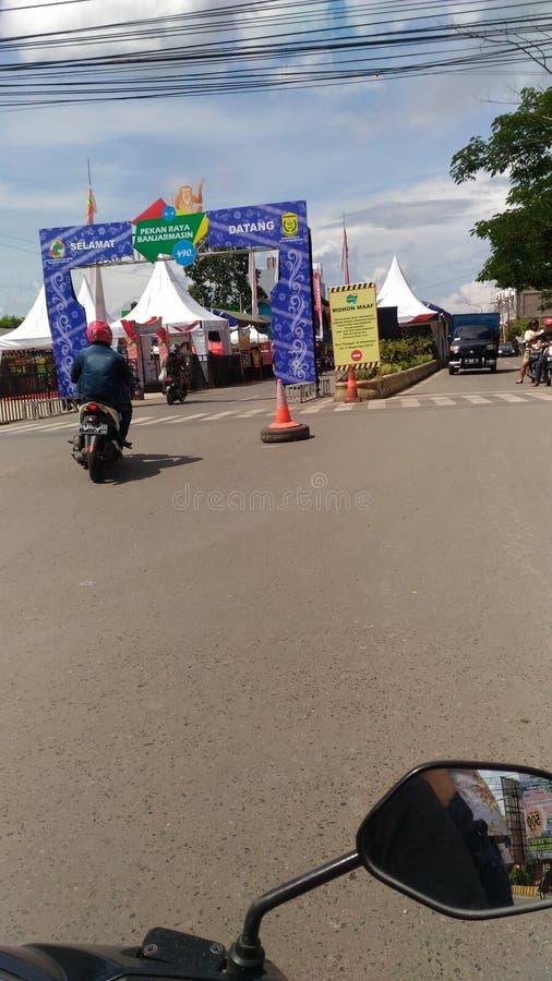 Raya Banjarmasin de Pekan fotos de archivo libres de regalías