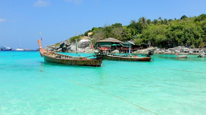 Raya Racha-strand in Raya Island, Koh Racha Yai, Thailand royalty-vrije stock afbeelding