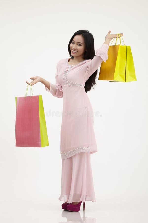 Raya shopping stock photo