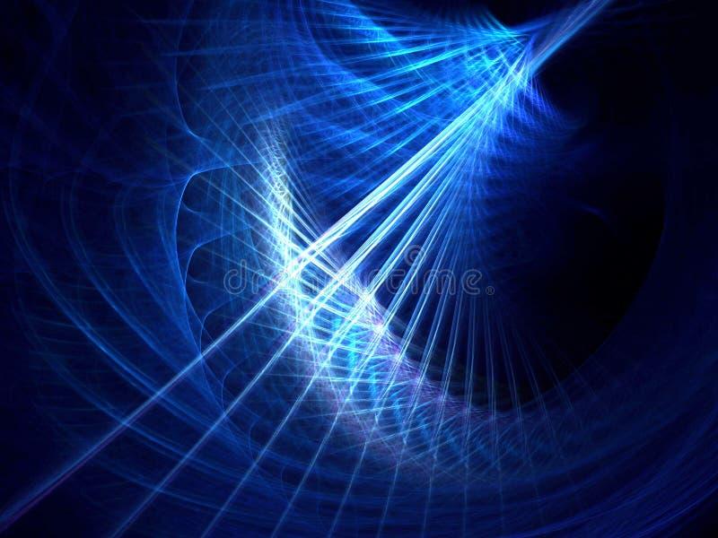 Rayas azules stock de ilustración
