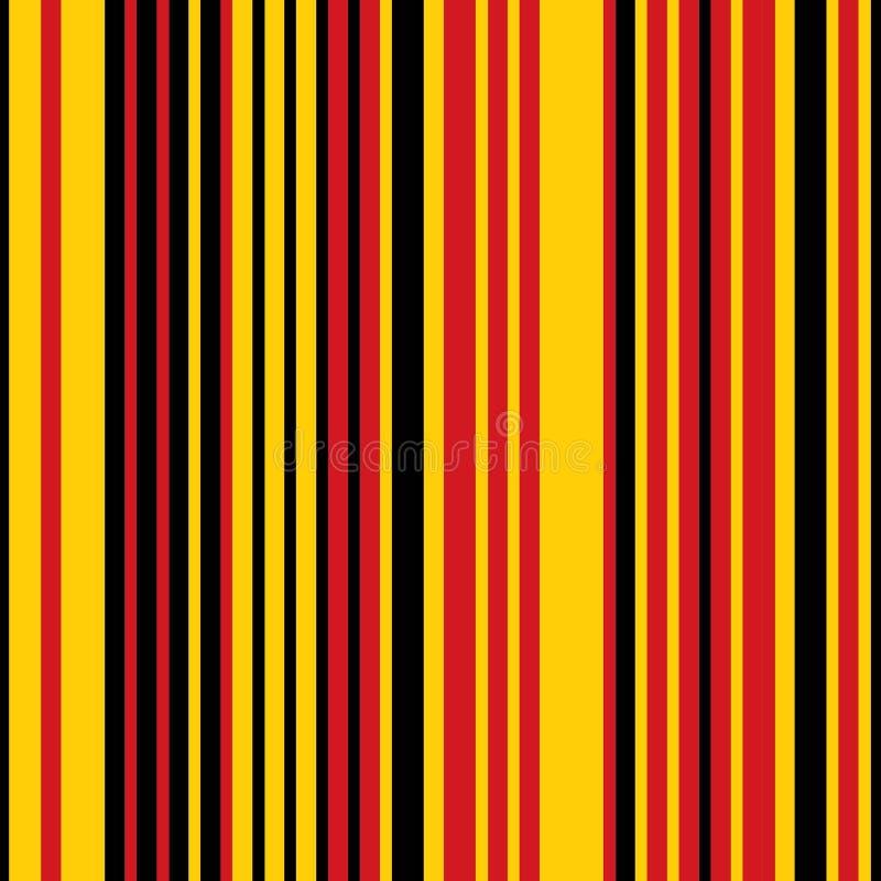 Rayas coloreadas verticales stock de ilustración