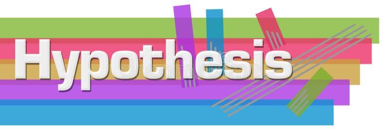 Rayas coloridas abstractas de la hipótesis horizontales libre illustration