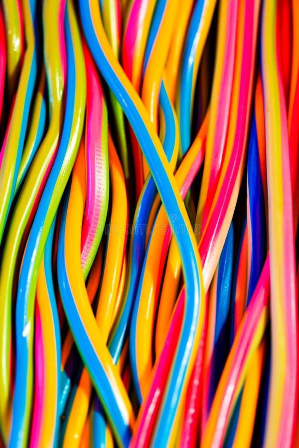 Rayas coloridas dulces imágenes de archivo libres de regalías