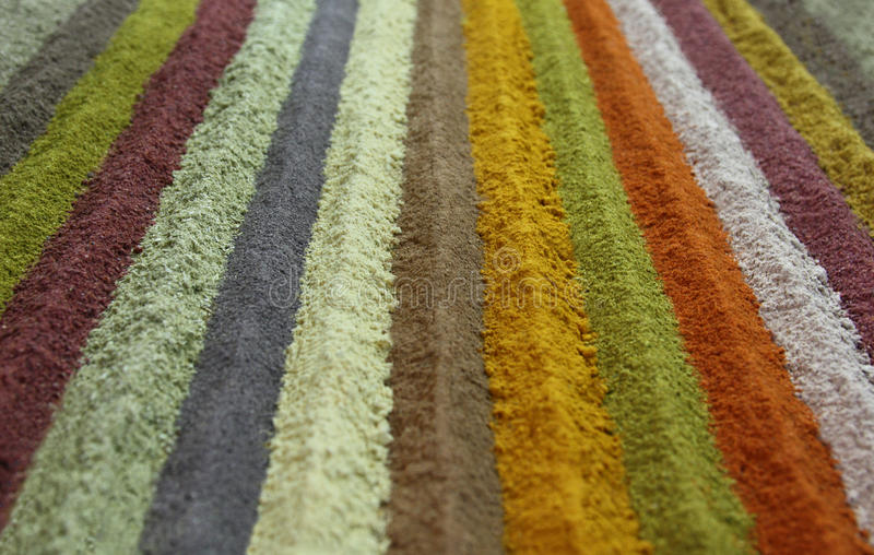 Rayas de la especia colorida foto de archivo libre de regalías