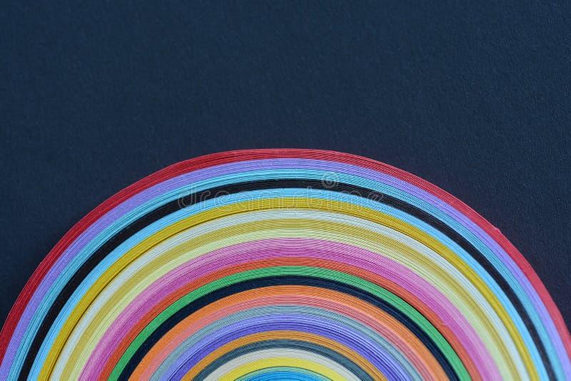 Rayas de papel imagen de archivo
