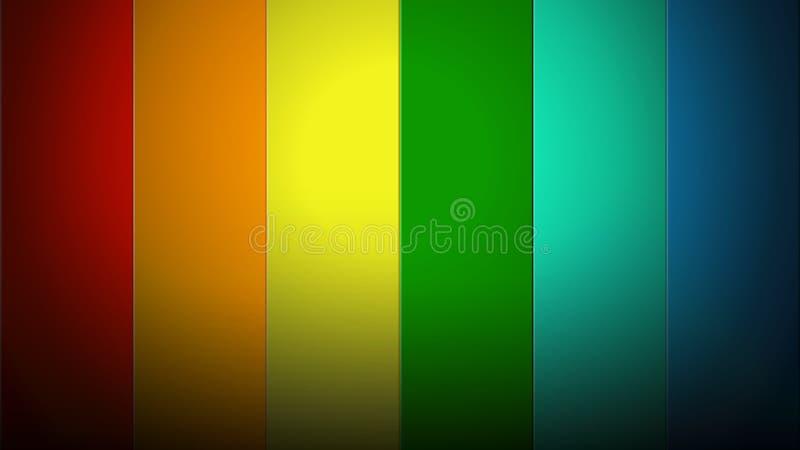 Rayas del arco iris imagen de archivo libre de regalías