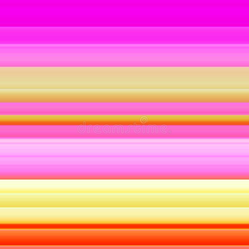 Rayas horizontales ilustración del vector