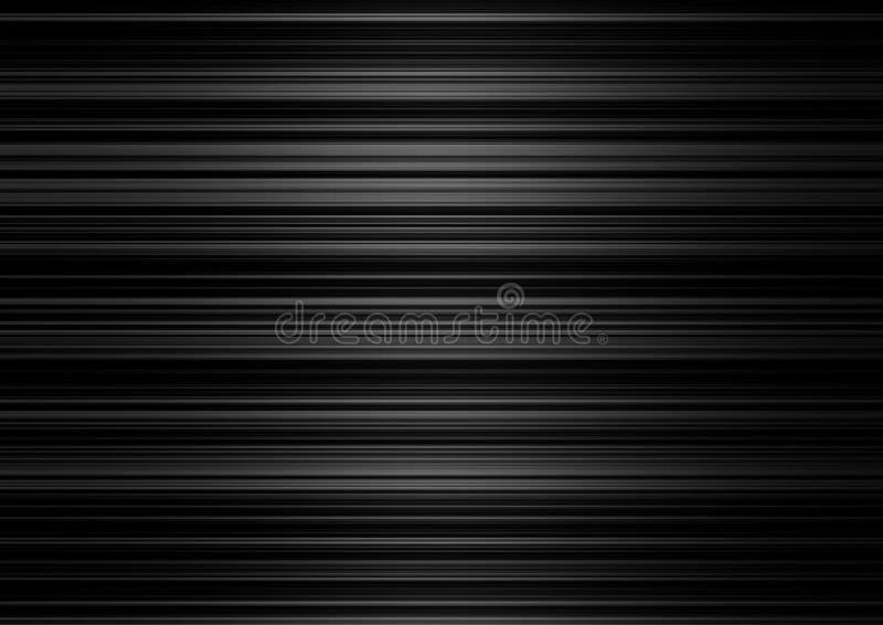 Rayas metálicas ilustración del vector