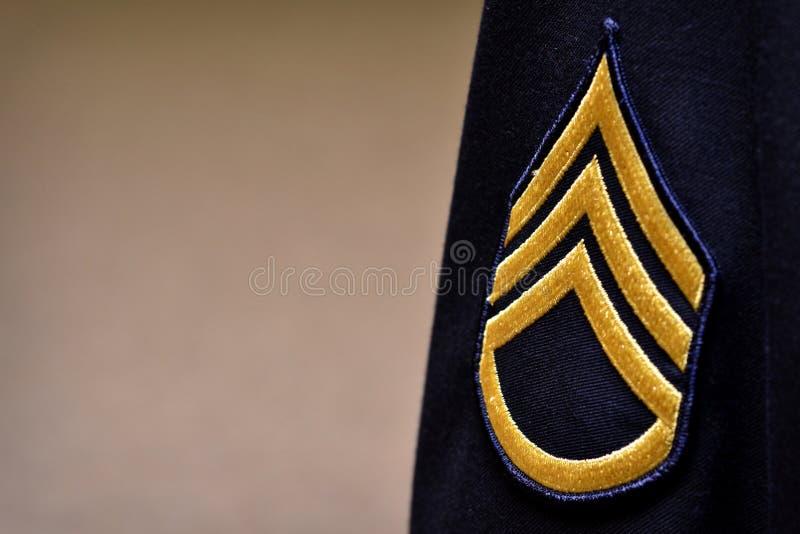 Rayas militares imagen de archivo