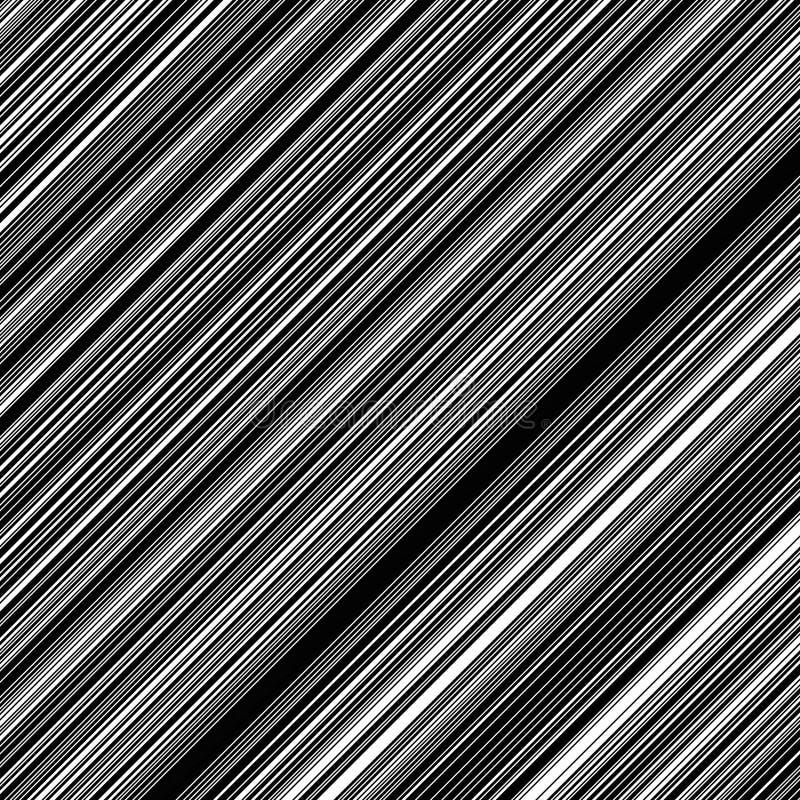 Rayas negras oblicuas stock de ilustración