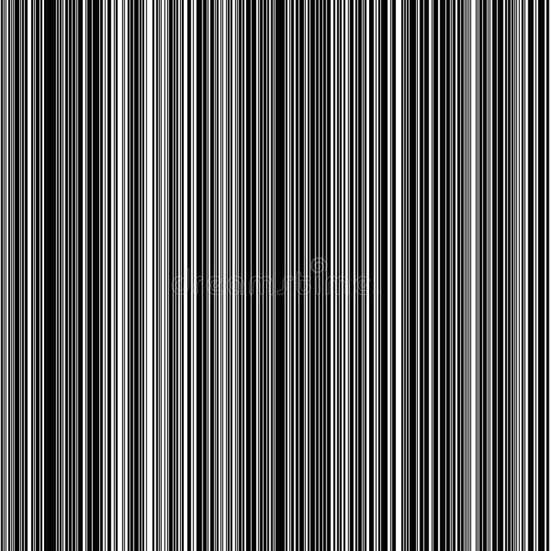 Rayas negras verticales ilustración del vector
