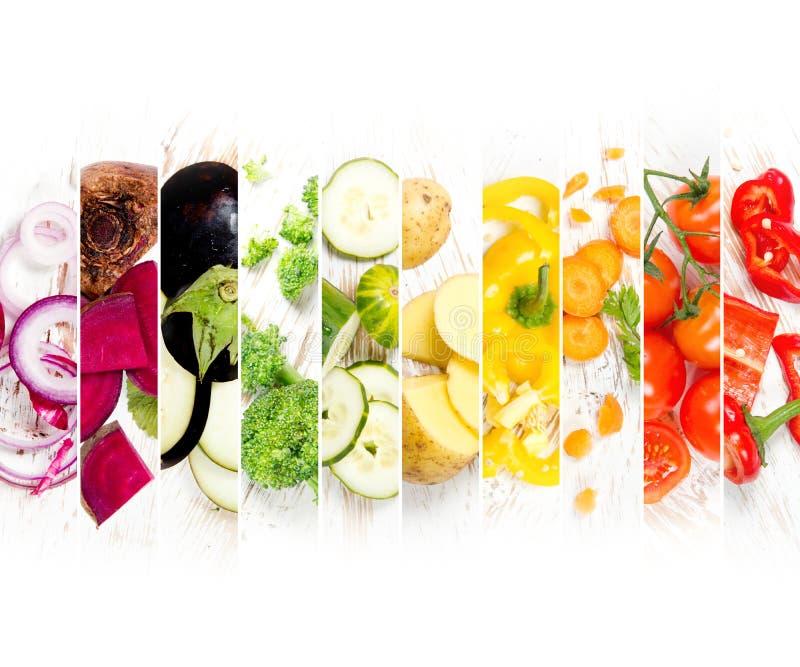 Rayas vegetales de la mezcla imagenes de archivo