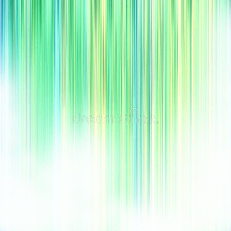 Rayas verdes de descoloramiento libre illustration