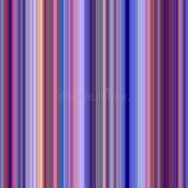 Rayas verticales del color. stock de ilustración