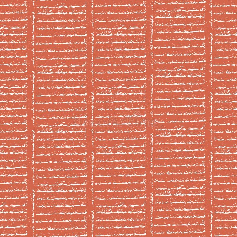Rayas verticales geom?tricas tribales de la escalera de la tiza vibrante y efecto diagonal sutil Modelo incons?til del vector en  stock de ilustración