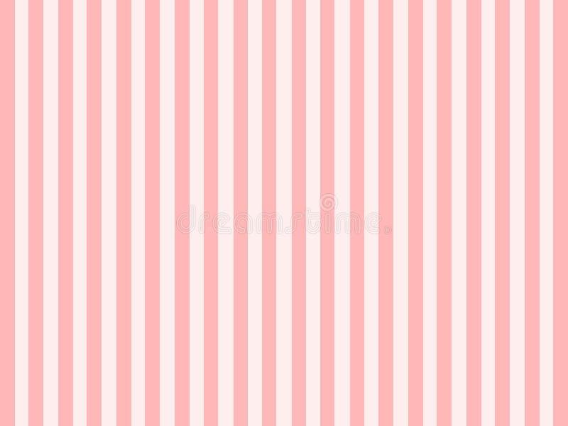 Raye el bacground del rosa y blanco ilustración del vector