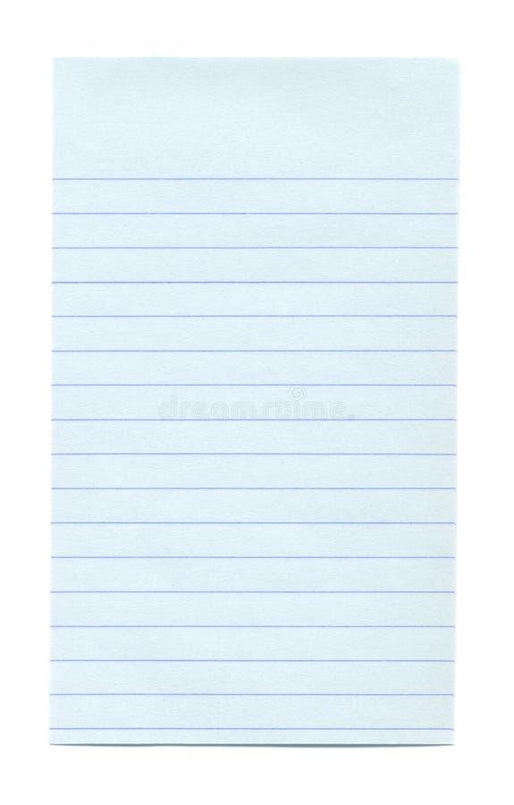 Rayer-Papier blanc image libre de droits