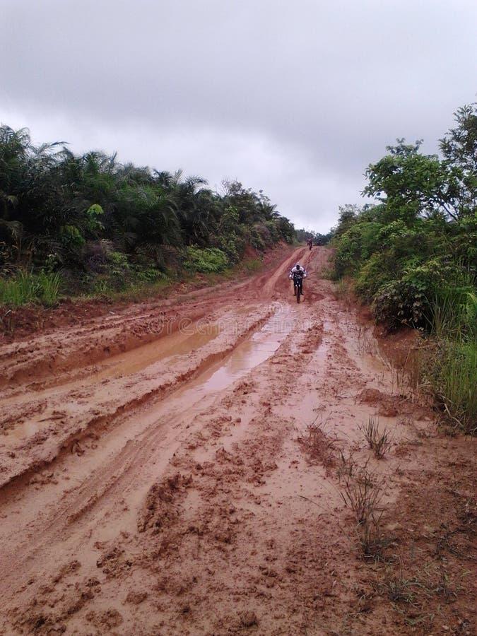 Rayez sur des cyclistes de RUSA BBC BANGKO JAMBI INDONEISA photos stock