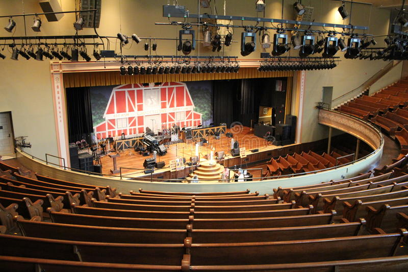 Rayman autidorium Nashville zdjęcia royalty free