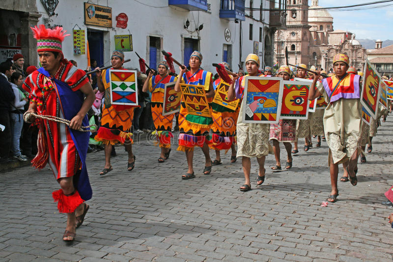 Raymi d'Inti image stock