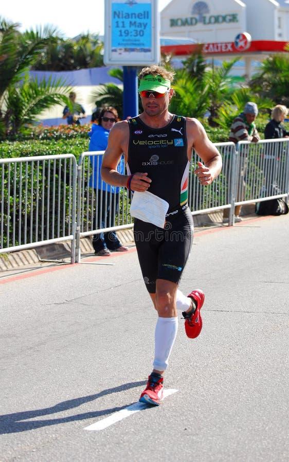 Raynard Tissink Ironman triathlete royalty free stock photo