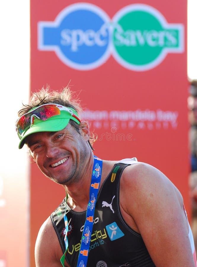 Raynard Tissink pro triathlete stock photography